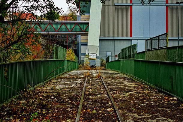 Das Bergwerk Göttelborn ist ein toller lost place im Saarland. Industriekultur Förderturm