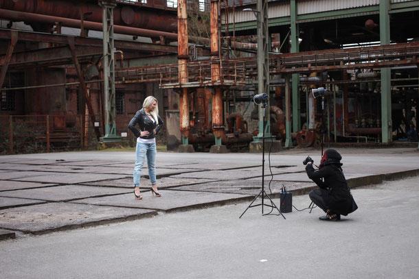 Fotomodel im Ruhrgebiet