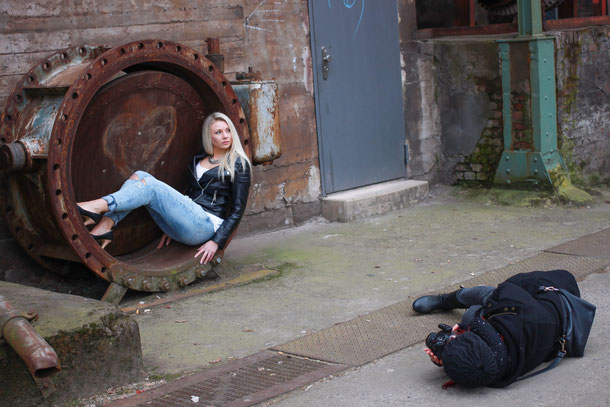Lostplace Shooting in Duisburg