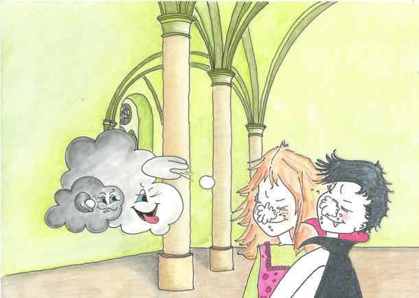 Abenteuer auf Burg Donnersbach - der kleine Vampir Valentin 2, Antje Hansen