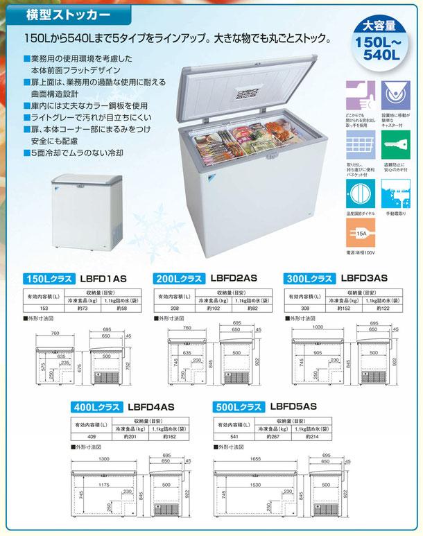日本製冷凍ストッカー