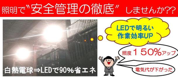 ANDY-LDS-FR -60℃LED 冷凍倉庫LED工事メリット