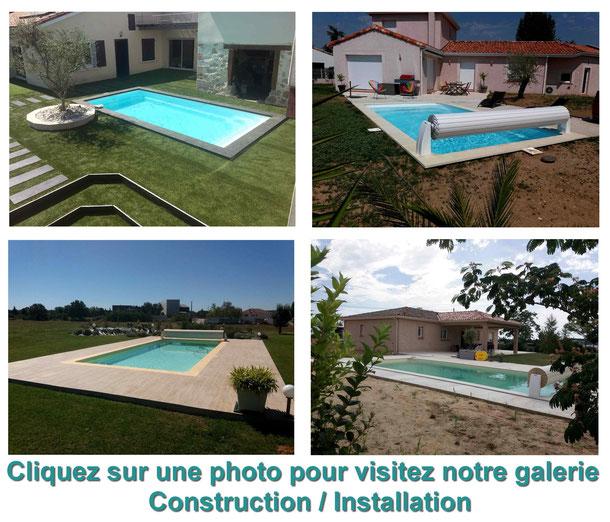 Construction piscine à Labastide St-Pierre 82370
