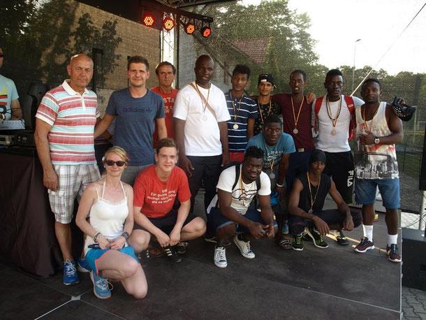 Team Human Care HLP - Die Zweitplatzierten (Foto: Gabriele Pawlak)