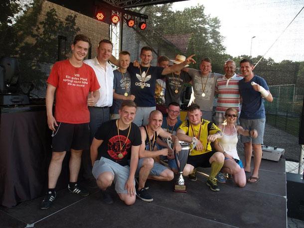 Die Sieger - RB Biehla (Foto: Gabriele Pawlak)