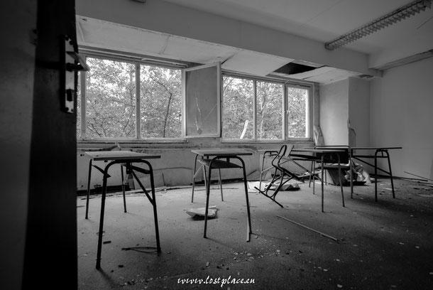 Das Klassenzimmer der Stille