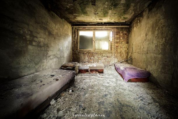 Möbel im ehemaligen Pionierlager