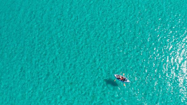 sejour porquerolles kayak