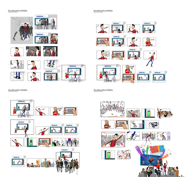 StoryBoards Nokia