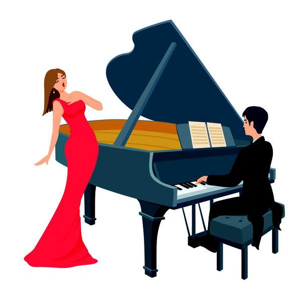 Les relations tumultueuses entre une chanteuse et son pianiste.