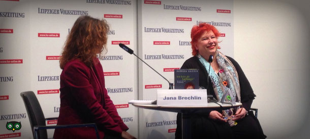 Barbara Salesch im Gespräch mit Jana Brechlin