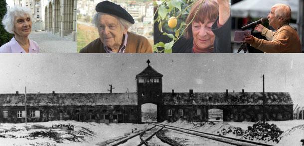 """Collage aus Portraitfotos von Christa Spannbauer und """"Bundesarchiv Bild 175-04413,  Stanislaw Mucha / CC-BY-SA 3.0"""