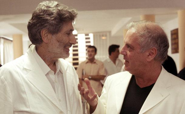Edward Said (links) und Daniel Barenboim (rechts). Lizenziert unter CC0