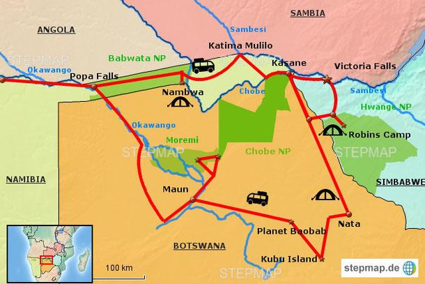 Detail Botswana