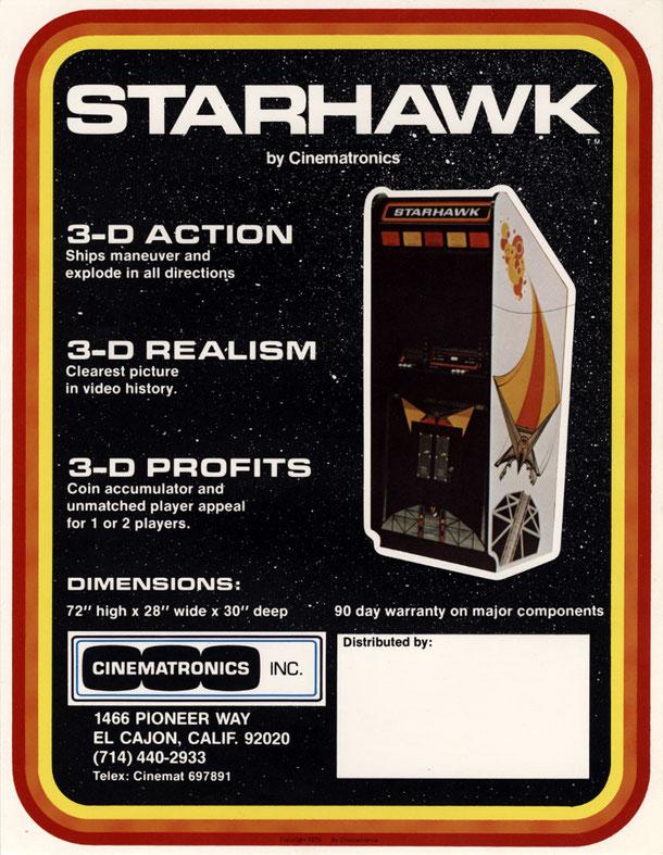 Starhawk arcade
