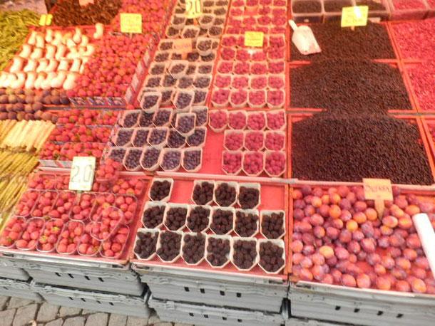 berryy類は大量に採れます