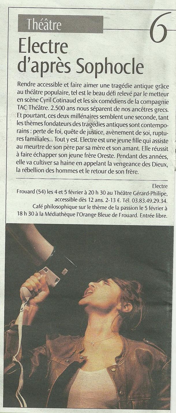 Est Républicain (supplément) - Février 2011