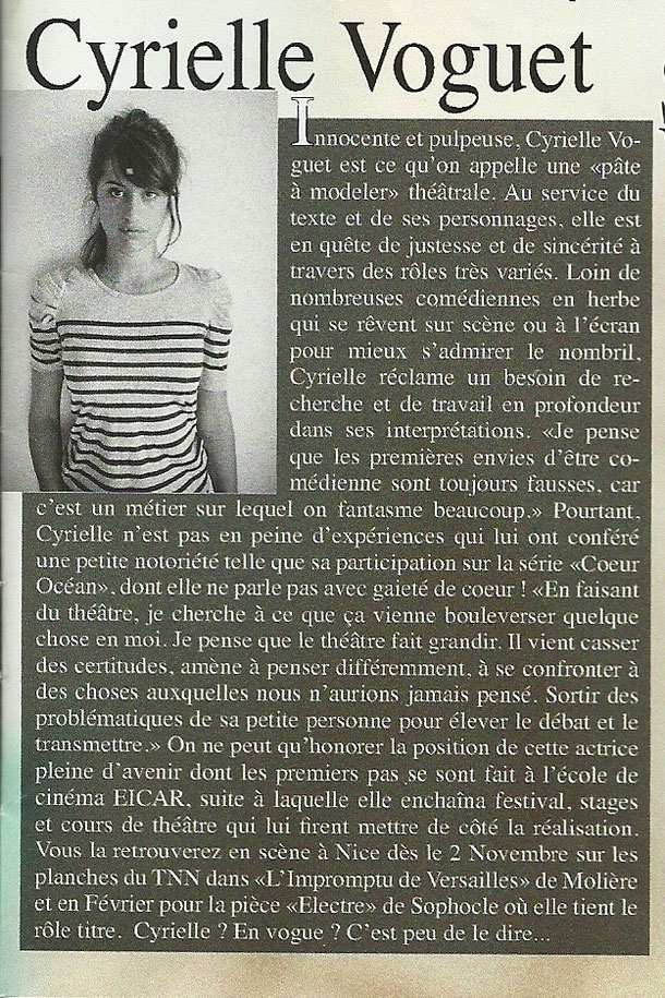 Le Crabe des Arts - Novembre 2011