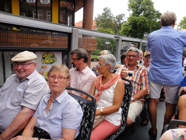 Chorfahrt 2017 Sightseeing