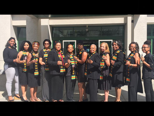NATIONAL COUNCIL OF NEGRO WOMEN- SAN GABRIEL VALLEY SECTION