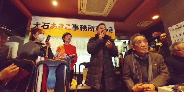 十三のピカソでもあり淀川料飲協同組合理事長でもある堀口博信さん。