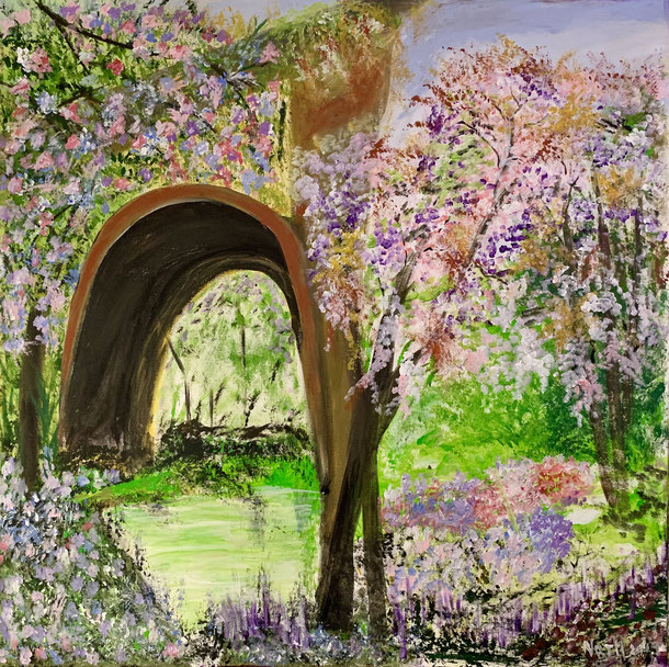 Spring under the Bridge