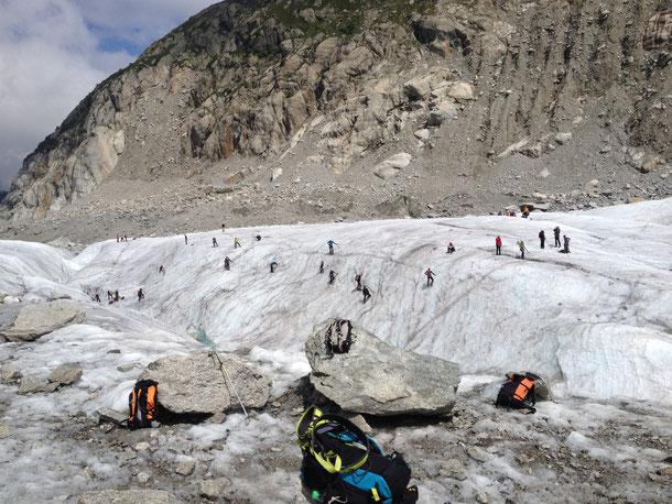 Chamonix - Montenvers - Mer de Glace - Mont-blanc