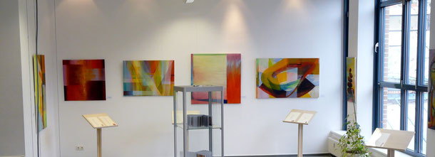 """Stadtbücherei Dülmen Ausstellung """"Wolkenspringer"""""""