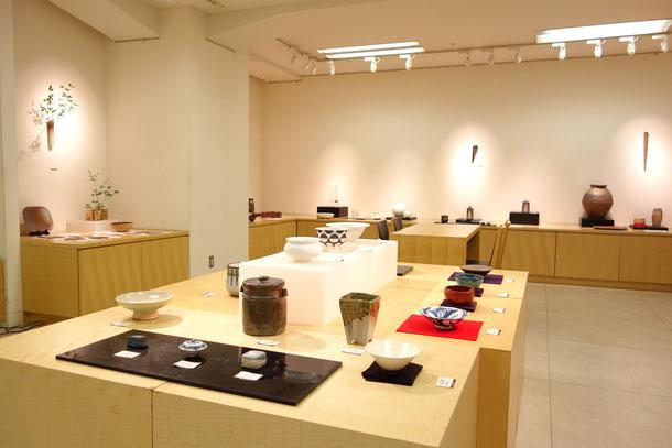 茶道具共同展示コーナー