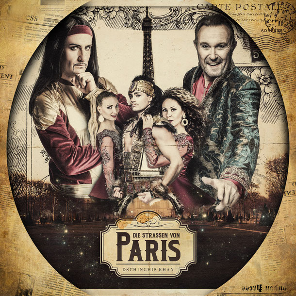 "Click on Image to buy and stream ""Die Strassen von Paris"" from Dschinghis Khan"