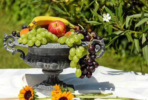Vitamine (Obst-Früchtekorb)