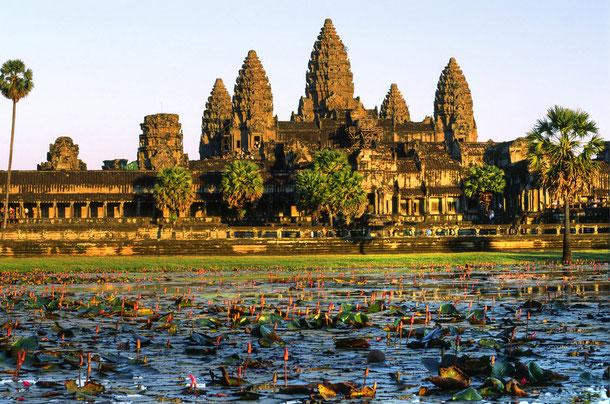 Angkor Wat Tempelanlage in Siem Reap