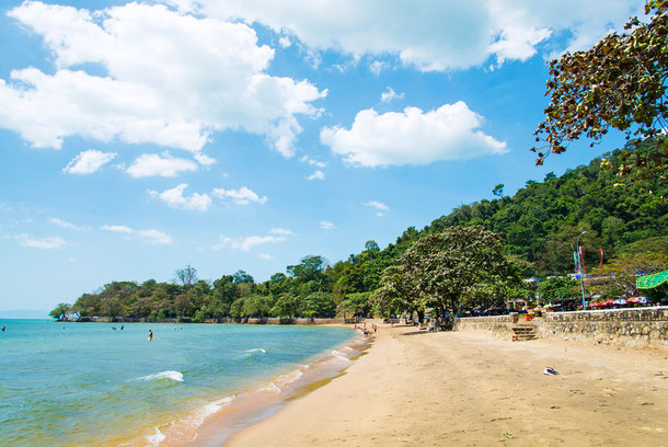 Strand in Kep Kambodscha