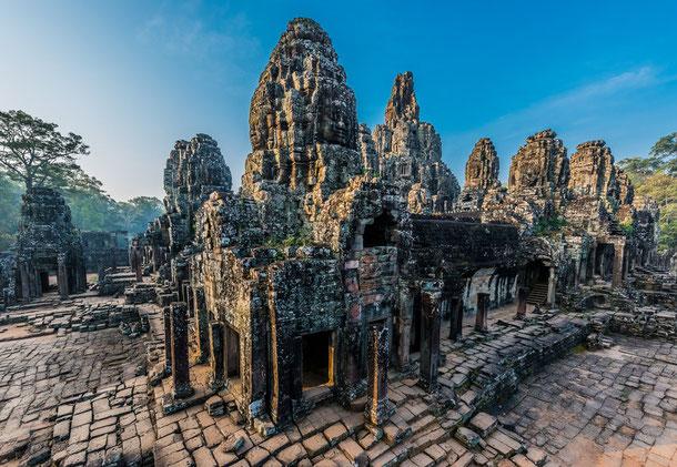 Prasat bayon temple Angkor Thom