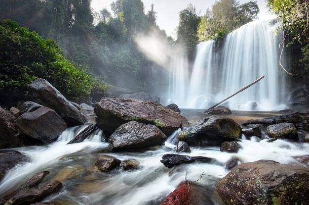 Kbal Chhay Wasserfall