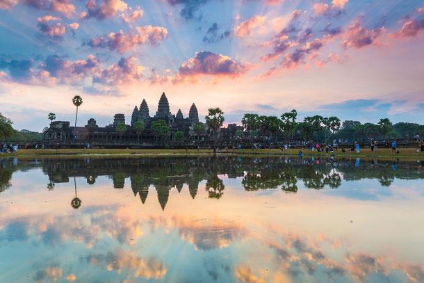 Wilkkommen in Siem Reap, für Ihre  Reise durch den wilden Westen Kambodschas zu den Cardamon Mountains.