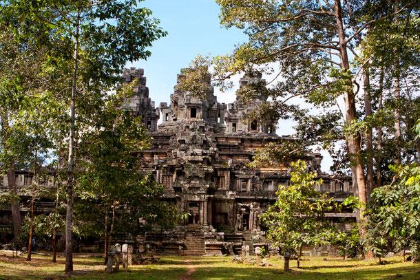 Der alte Khmer Tempel Angkor Borei in der Provinz Takeo