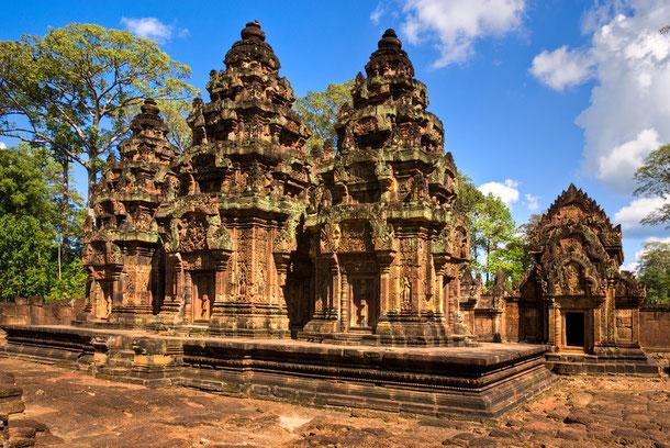 Banteay Srei - Tempel der Frau