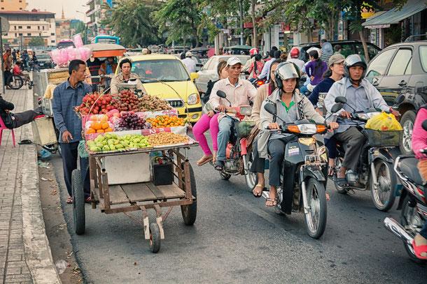 Phnom Penh in der Kandal-Provinz