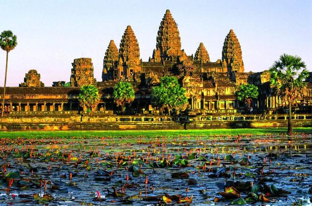 Angkor Wat - die berühmteste Tempelanlage in Angkor
