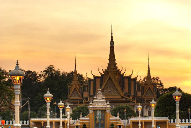 Die Rundreise durch den wilden Osten beginnt in der Hauptstadt von Kambodscha, Phnom Penh.