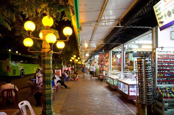 Siem Reap, Sehenswürdigkeit Nachtmarkt