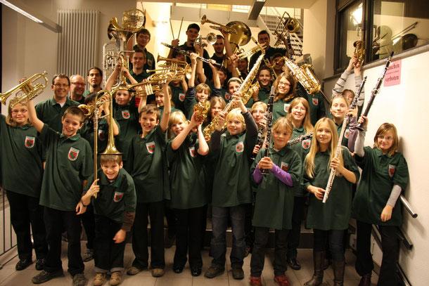 Jugendorchester des Musikvereins Birgden