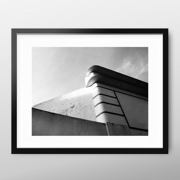 Minimal architecture photography 'Church Corner' by PASiNGA