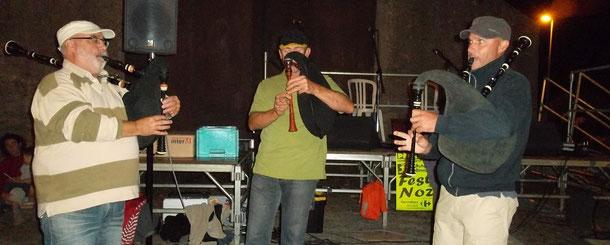 Fest-noz à Roffiat septembre 2012