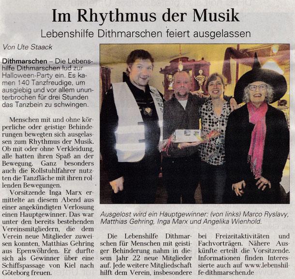 Im Rhythmus der Musik (DLZ 14.11.2015)
