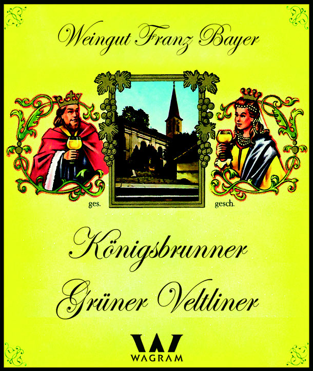 weingut franz bayer wagram königsbrunn am wagram roter veltliner veltliner  donau region wagram weinstrasse wagram