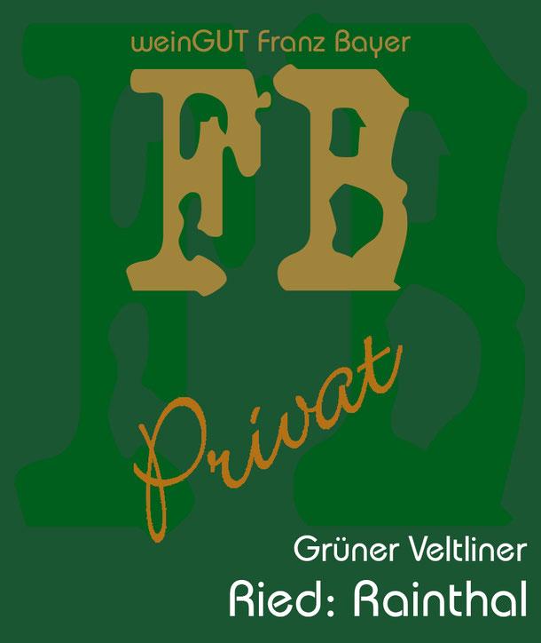 Grüner Veltliner Rainthal Privat Reserve Königsbrunn am Wagram Weingut Franz Bayer