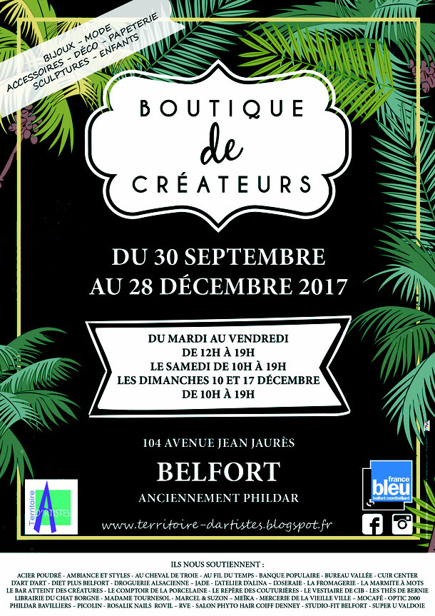 C'est à Belfort, 104 avenue Jean Jaurès, et c'est pour 3 mois!