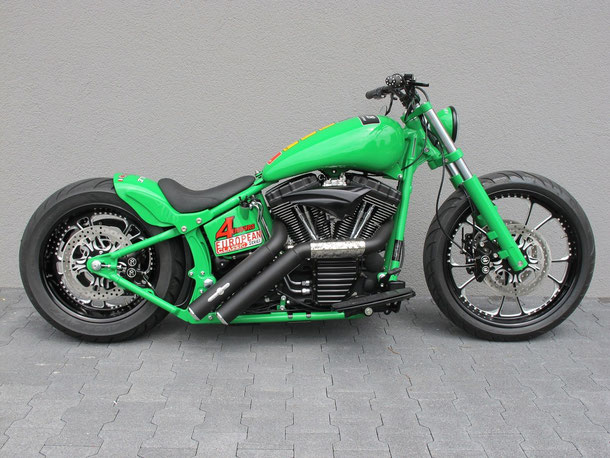 "Tribute Bobber ""The Manx"""